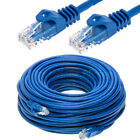 CAT5E CAT5 Ethernet Lan Network Cable 5ft 15ft 25ft 30ft 50ft 100ft 200ft LOT