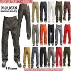 MEN MEMBERS PROPERTY RAW DENIM BLACK JEAN RELAXED LOOSE FIT  PANTS