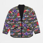 Supreme SS15 Quilted Paradise Reversible Jacket Box Logo - Black