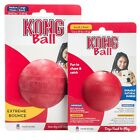 Kong BALL CLASSIC RED Original Rubber Best Dog Chew Puppy Treat Fetch Toy~PICK