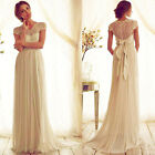 Long Sexy Womens Lace Evening Party Ball Prom Gown Formal Cocktail Wedding Dress