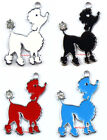 Wholesale Lot Mix Poodle Charm Metal Pendant DIY jewelry Make Gifts H156