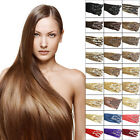 Top Quality Clip in Remy Human Hair Extensions For a Full Head Wedding Gift 7Pcs