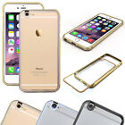 Apple iPhone 6/6 Plus Alu Bumper mit transparenter Schutz Rückseite Aviation CNC