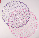 Pack of 20 XL Disposable Clear Cellophane Party Table Doilies