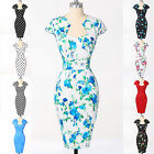 Chinese Qipao Vintage style Evening Party 1950s Penicl Wiggle Dresses Cheongsam