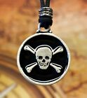 Pirate Skull & Bones Jolly Roger in Fine Pewter by Treasure Cast