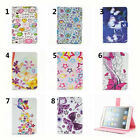 New Beautiful butterfly flower PU Leather Stand Case Cover for ipad mini 1 2 3