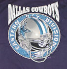 Vintage 1995 NFL Dallas COWBOYS Pro Player T-Shirt BLUE NWT NOS New Old Stock