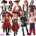 Pirate Captain Buccaneer Jack Sparrow Caribbean Kids Costume 18 months - 8 yrs