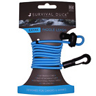 Kayak Canoe Paddle Leash Clip Fishing Rod Tether Holder- Whistle Model Available <br/> *UV Treated * Best Prices * Whistle * UK * 20 Designs *