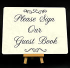 Wedding Please Sign Our Guest Book Metal Plaque Sign