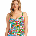 Brand New Freya Swimwear Dreamer Plunge Tankini Top 3637 Azure VARIOUS SIZES