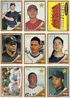 2011 Topps Heritage Base, Rookie, RC, or Star Card You Pick Your Player G