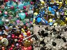 Stunning Jewellery Making Mix Glass, Shell And Tibetan Beads Buy 3 Get 4th Free