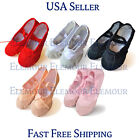 womens shoes size chart - Girls Womens Ballet Dance Shoes Fitness Gymnastics Shoes Canvas US Seller