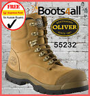 New Oliver AT's Womens Work Boots Leather Safety Steel Toe 55232 FREE EXPRESS