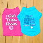 New Arrived Puppy Dog Cat Pet Bright Color Clothes Cute Lovely Shirt Apparel