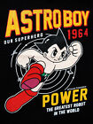 Ship From USA-ASTRO BOY Men's T-Shirt-Our Super Hero 1964-Black Size L