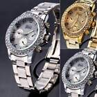 Stylish Geneva Ladies Women Girl Unisex Stainless Steel Quartz Wrist Watch ItS7