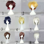 Short Layered 8 Colors&Styles Men/Women Cosplay Party Anime Full Wig Hair