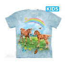 The Mountain T-Shirt Dueling Unicorn Twins Children's Youth Size