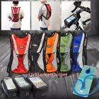 Hydration Backpack+2L Water Bladder Bag+Bicycle Bag For Hiking/Camping/Cycling