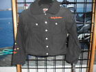 NOS Harley Davidson Girls #1 w/Wings Laundered Poplin Black Long Sleeve Jacket