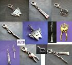 PICK YOUR CHARM Clip On Teeth Angel Wing Tooth Fairy Toothpaste Toothbrush Tube