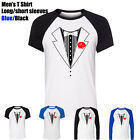 TUXEDO funny Humor Wedding Gift School Prom Suit Costume Men's Boy's T Shirt Tee