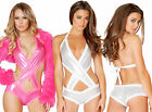 Metallic Criss Cross Romper Swimsuit SF127 In Multiple Colors GoGo Ravewear