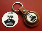 BREAKING BAD  LEATHER KEY RINGS & GOLD PLATED BADGES & IPAD/PHONE STICKERS