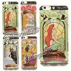 Disney Princess Stained Glass Window Art Soft Rubber Case For iPhone 6S / 6 Plus