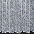 LEWIS - QUALITY NET CURTAIN - ABSTRACT DESIGN - SOLD BY THE METRE - CUT TO WIDTH