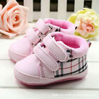 Baby Girl pink Crib Shoes Toddler Sneakers Size Newborn to 18 Months