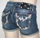 NEW Miss Me Jeans Shorts Spring Fever in Paradise- JP8288H Sz 25,26,27,28 NWT