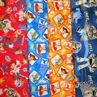TOY STORY #1 Fabrics, Sold Individually, Not As a Group, By The Half Yard