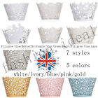 Hot Sale 12/24pcs Cupcake Wrapper Cake Case Wedding Birthday Party Decorating #F