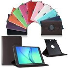 360°Rotating Leather Smart Case Cover Stand For Samsung GALAXY Tab A T550/P550