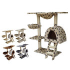 FoxHunter Kitten Cat Tree Scratching Post Sisal Toy Activity Centre Bed CAT001