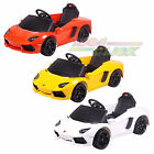 New Electric Kids Ride on Car Lamborghini Aventador Parental Control MP3 Input