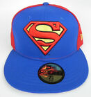 SUPERMAN DC COMICS BLUE/RED 2-TONE FITTED NEW ERA 5950 CAP CHOOSE SIZE NEW RARE!
