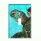 Sea Turtle Ocean Life Light Switch Plate Wall Cover Tropical Decor Blue