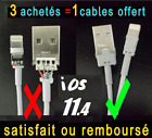 CABLE USB CHARGEUR CHARGER iPHONE 8/X/7/ 6 / 6+/ 5/S/C/cable iPhone 7/7 PLUS,X,8