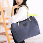 Fashion Lady Women Hobo Canvas Handbag Purse Satchel Tote Shoulder Bag Messenger