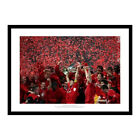 Liverpool FC 2005 Champions League Final Team & Trophy Photo Memorabilia (492)