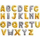 Gold/Silver Numbers & Letters Balloons for Party Celebration Birthday Decoration