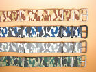 One Piece Military, N.A.T.O. Camouflage Straps, 16mm, 18mm, 20mm, 22mm, 24mm