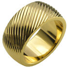 Sz Q-Z+5 Man Seashell 18KT Gold Filled Engagement Wedding Ring r246MA