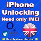 FACTORY UNLOCKING IPHONE 5 5S 5C 6 6+ O2 UK FAST SERVICE **CLEAN IMEI ONLY**
